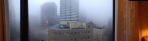 A foggy panoramic -- Hey! Where'd all the buildings go?
